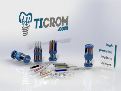 Набір лабораторних викруток Ticrom